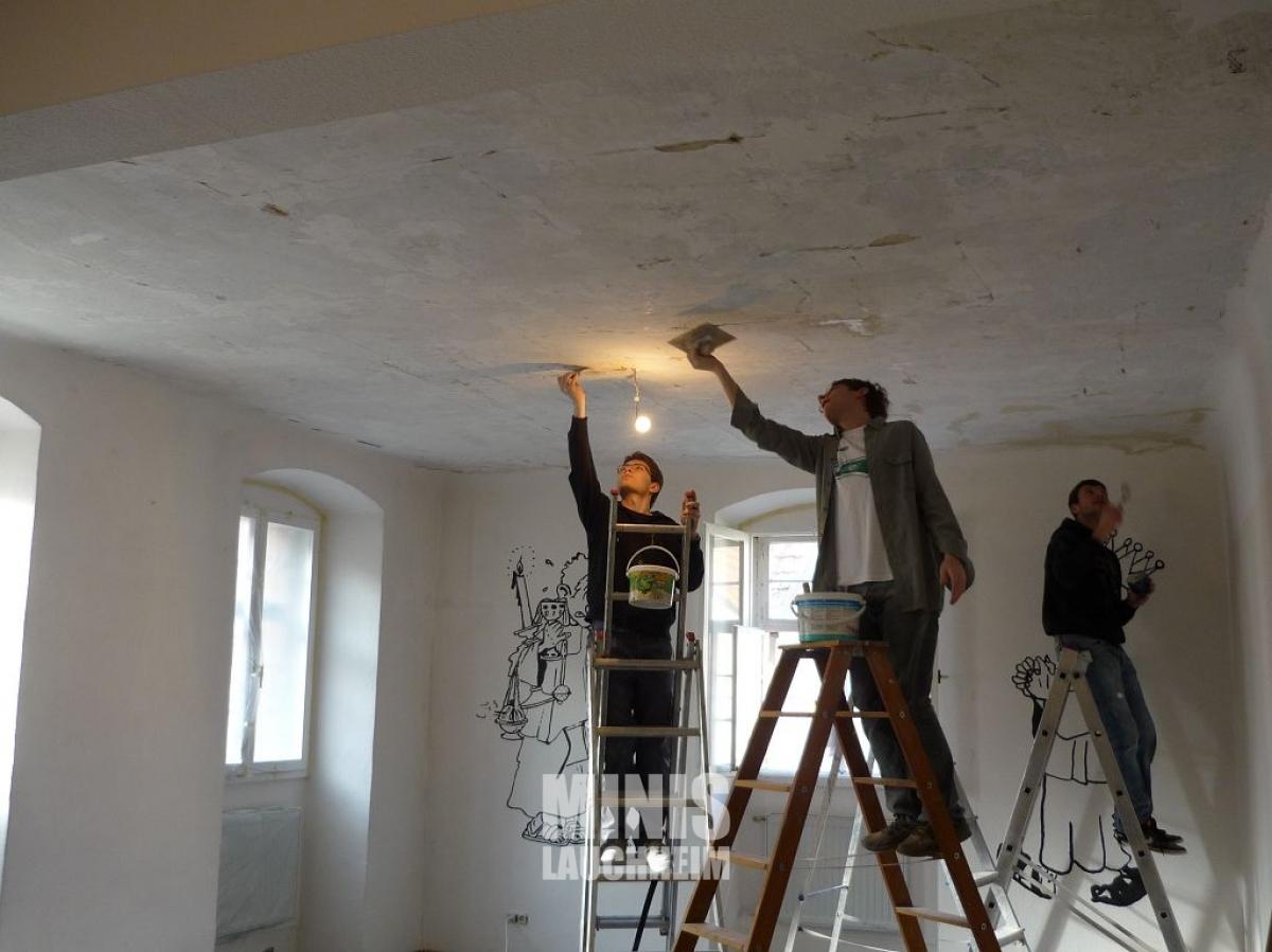 renovierung miniraum ministranten lauchheim. Black Bedroom Furniture Sets. Home Design Ideas
